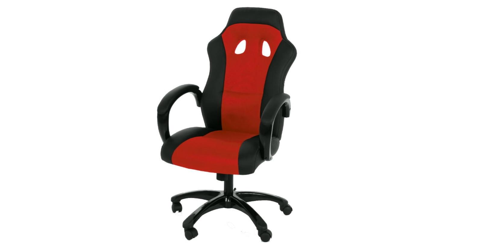 Bürostuhl Race in rot/schwarz