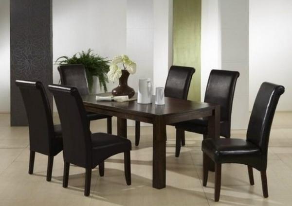 polsterland nagold 5950013 esszimmerstuhl stuhl klassischer puls kunstleder braun tischgruppe. Black Bedroom Furniture Sets. Home Design Ideas